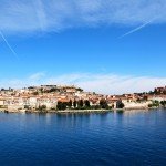 View of Portoferraio - arrival and departure point on Elba
