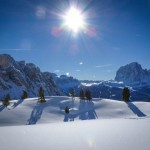 Skiing the Dolomites