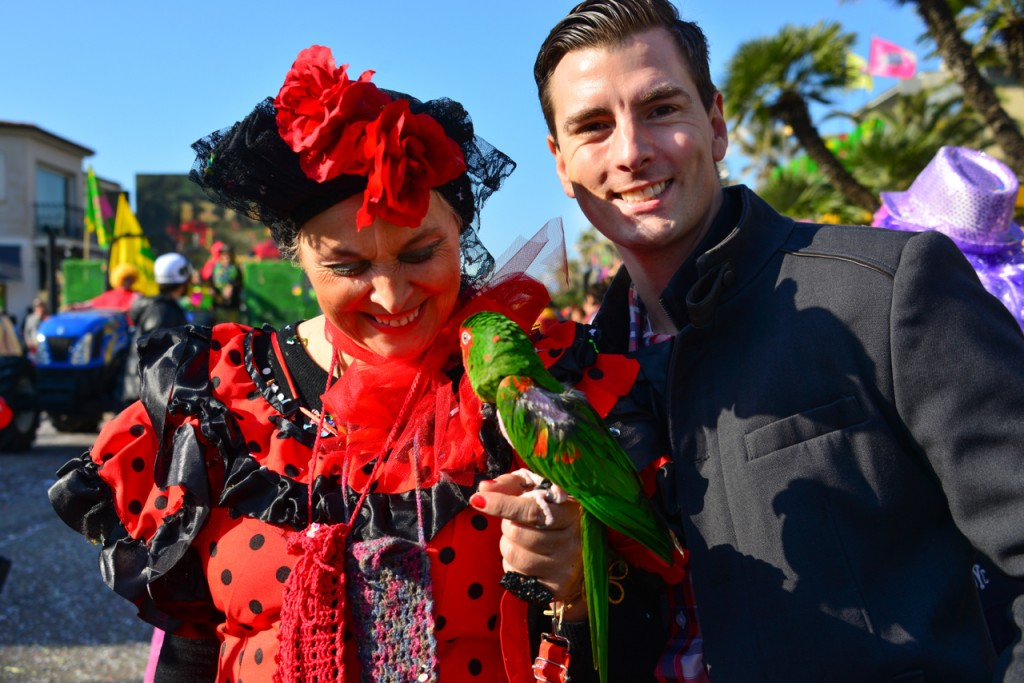 Bobby and the parrot lady