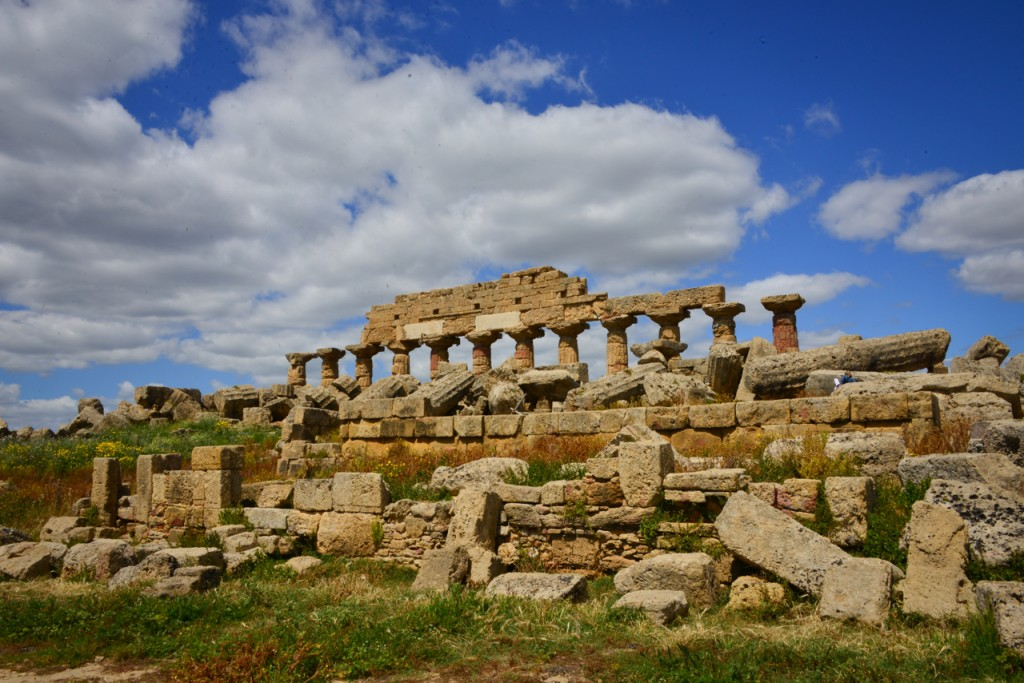 The ruins of the Acropolis