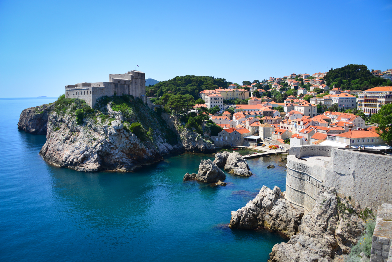 View of Dubrovnik's Castle from the walls