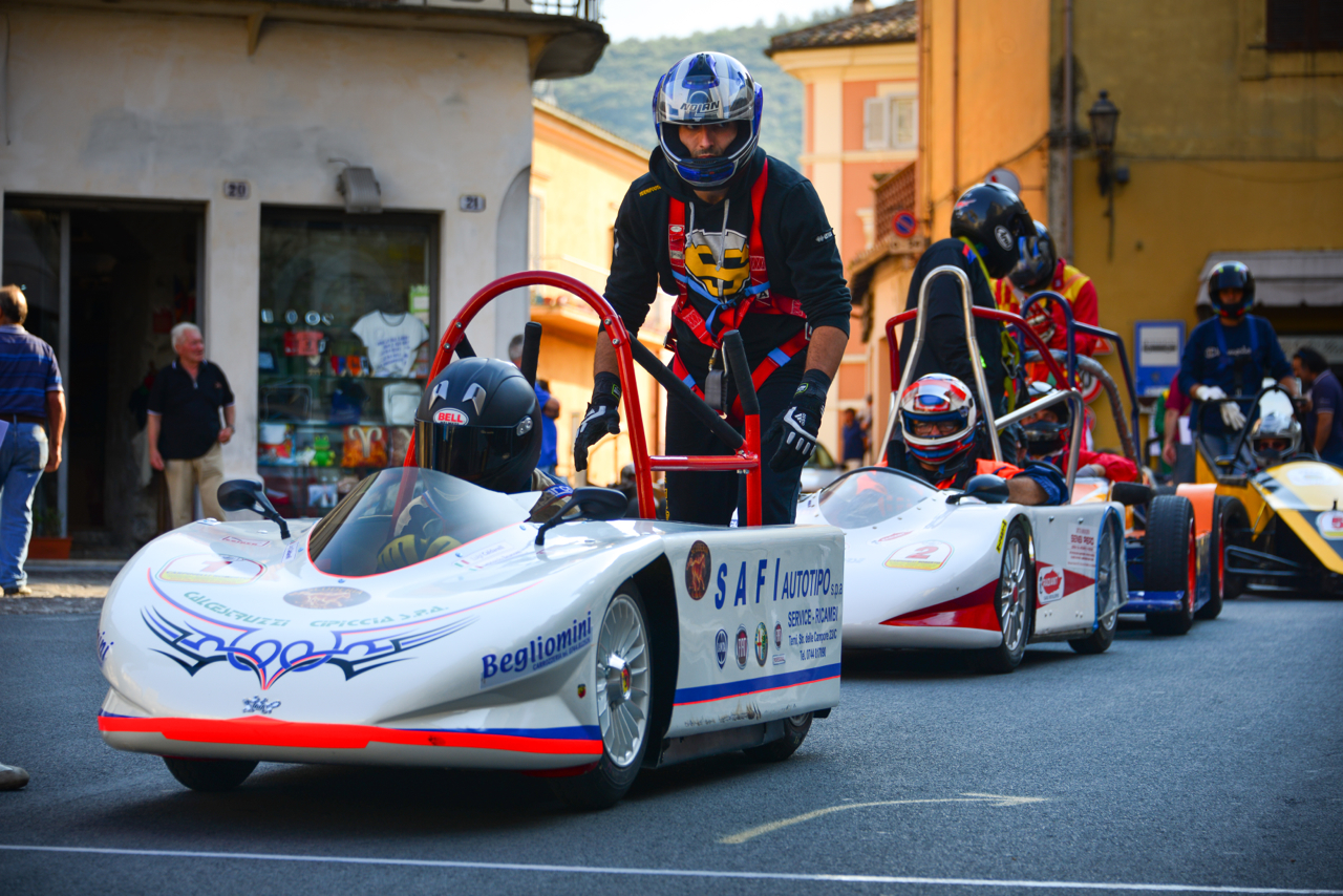 Start of the two-man in Narni