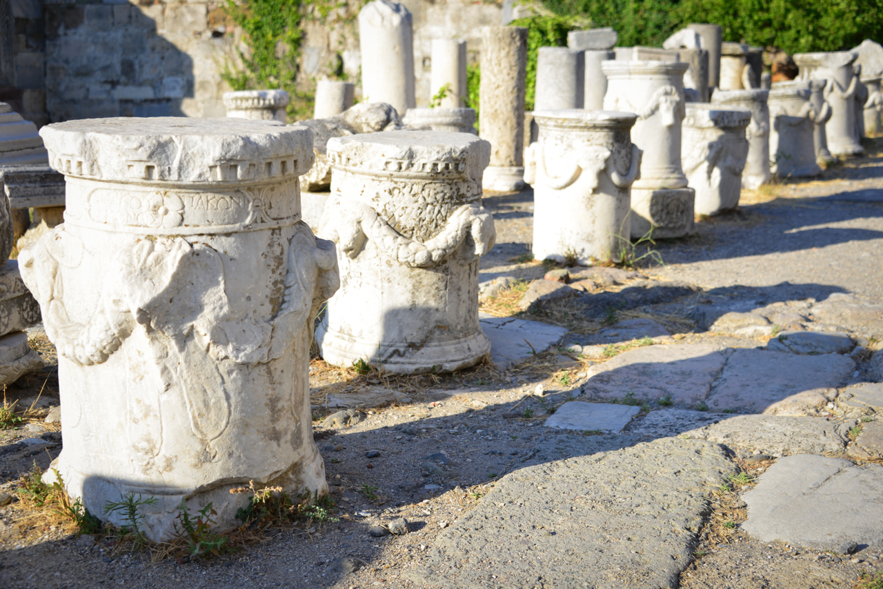Oh, ya know....just some Greek columns laying around.