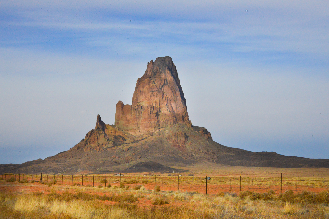 Arriving in Monument Valley