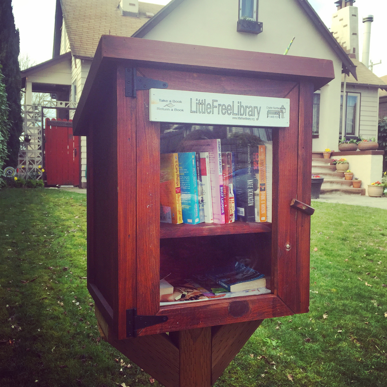 "We have several of these ""Little Libraries"" around our neighborhood, which is fantastic"