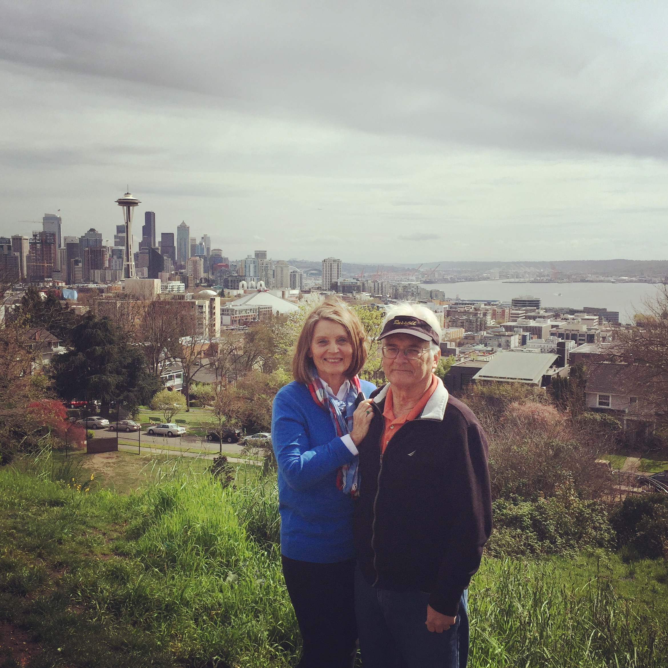 Mom and Dad at Kerry Park