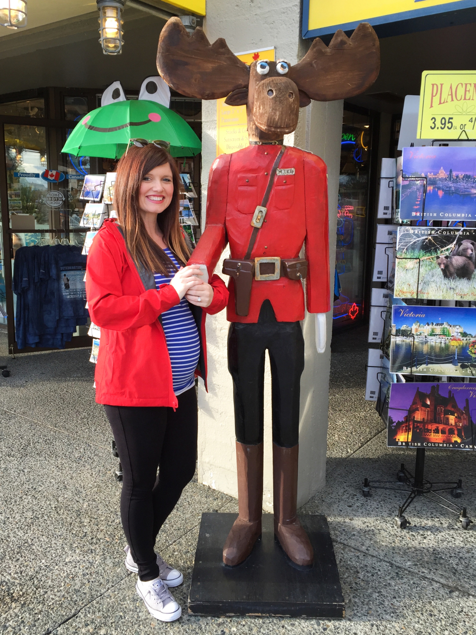 Meeting Bullwinkle the Canadian Mountie