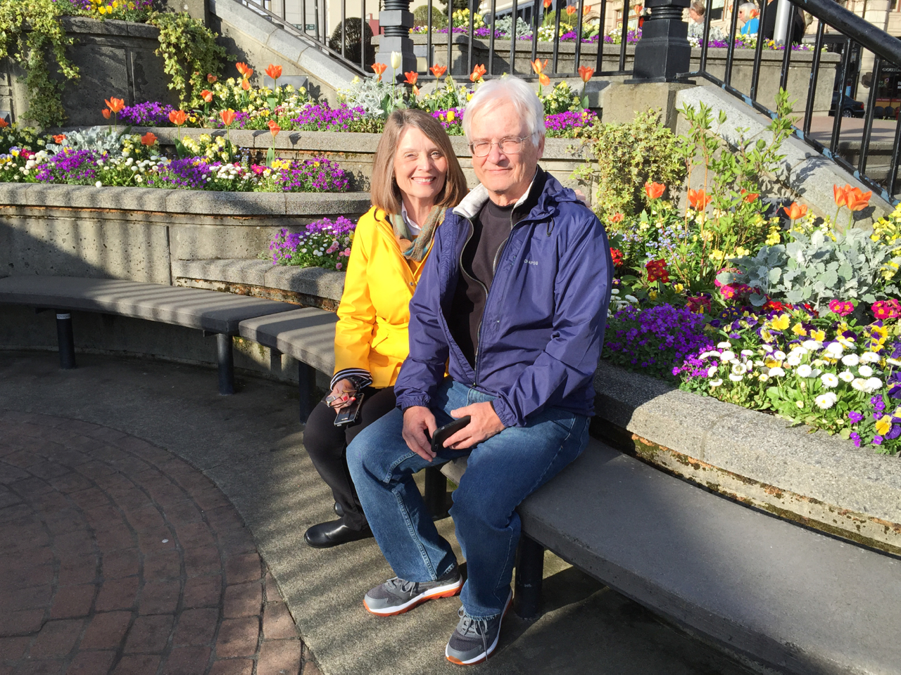 Mom and Dad in Victoria