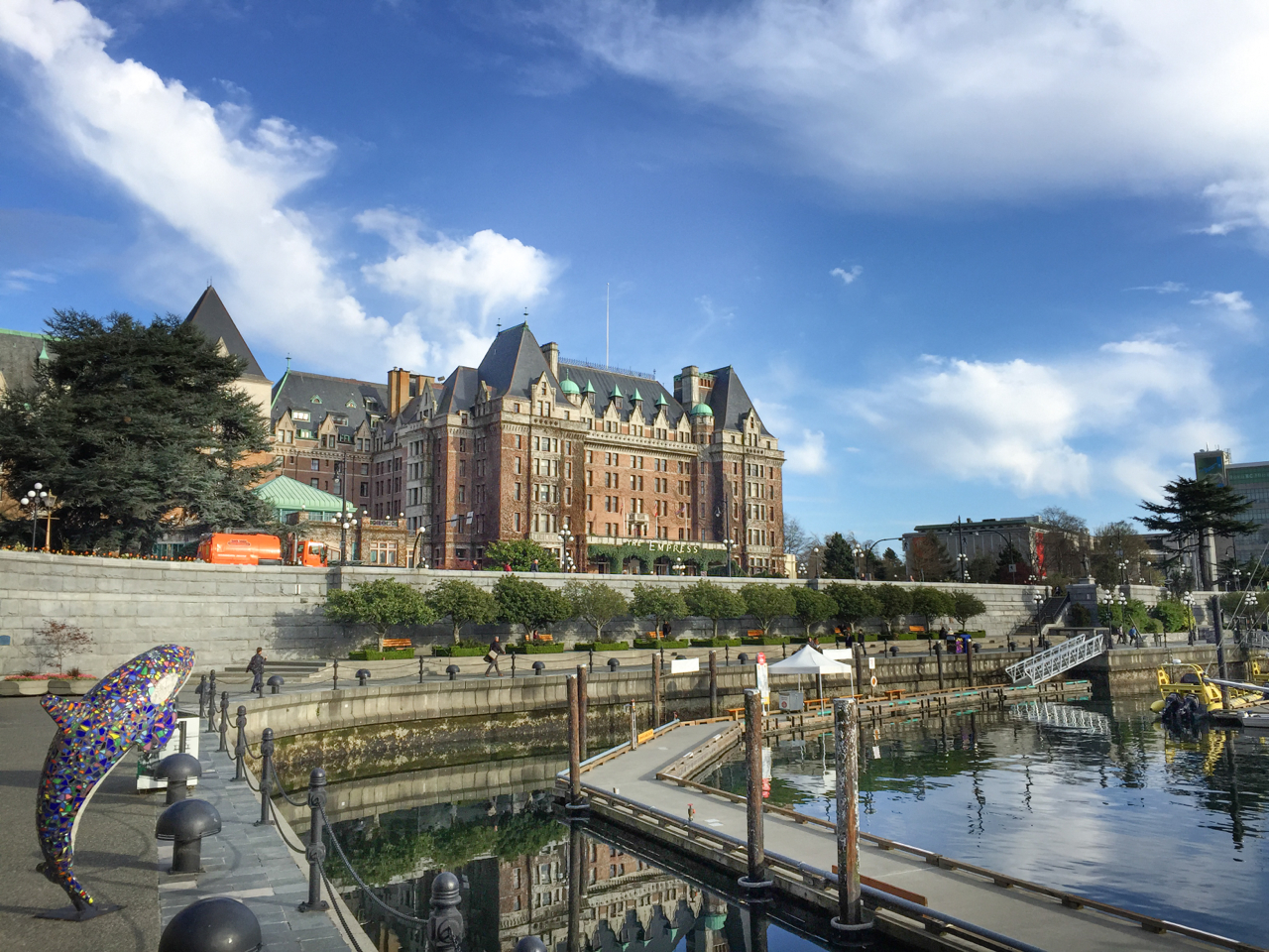 View of the Empress Hotel