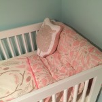 """Well Nested"" crib bedding"