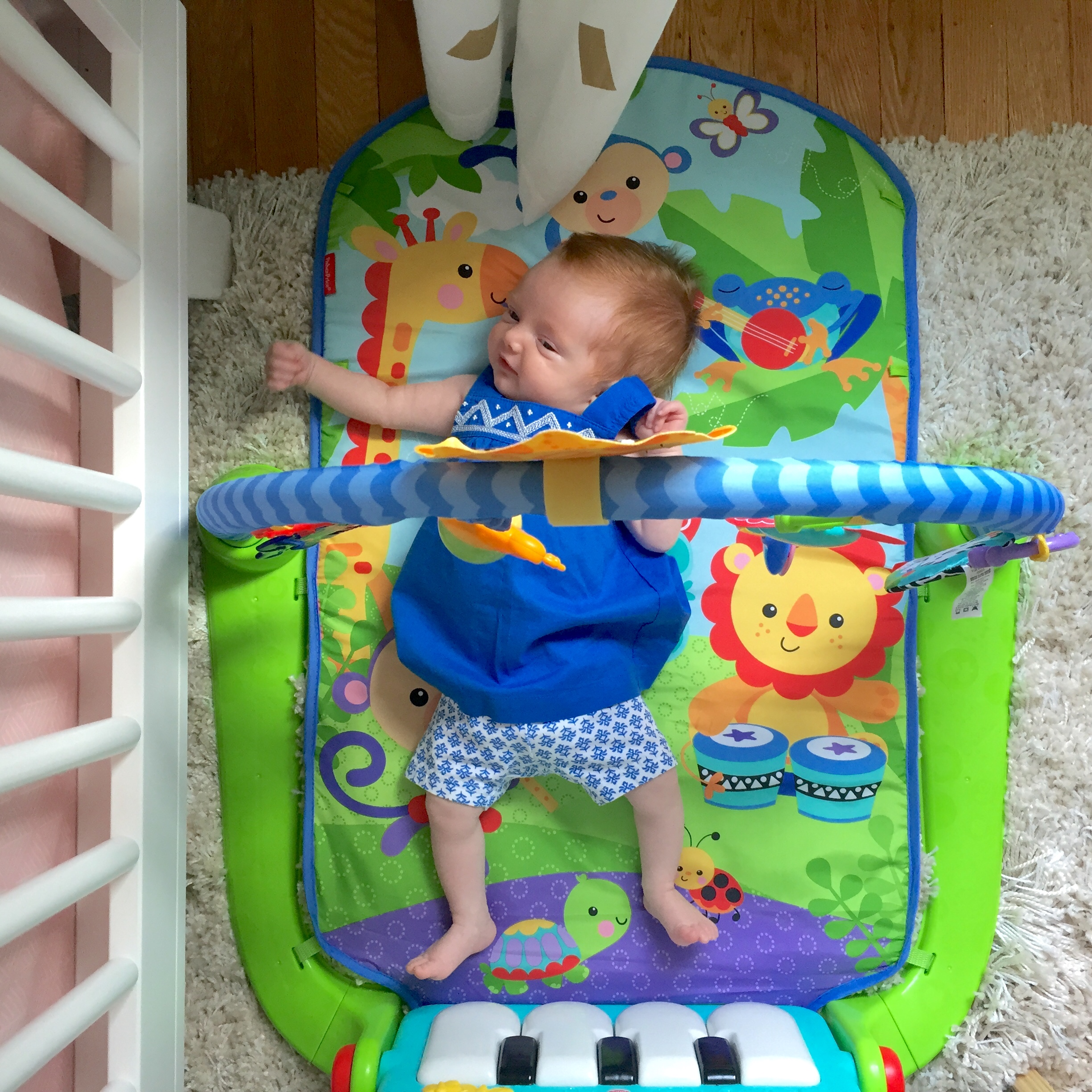 The Seattle play mat (this one has music!)