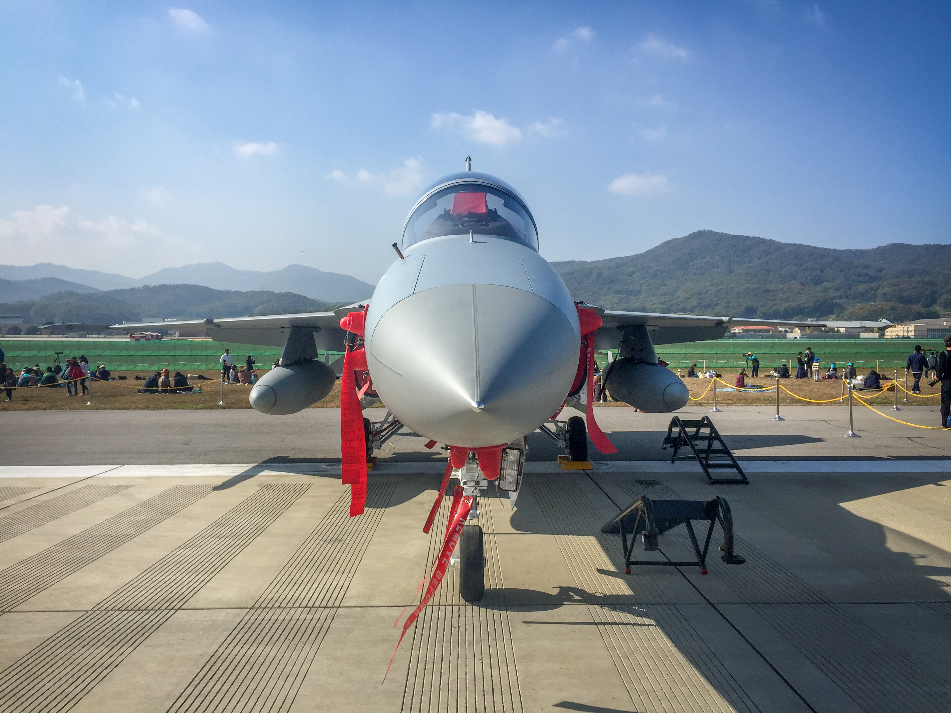 The F-16 from Kunsan